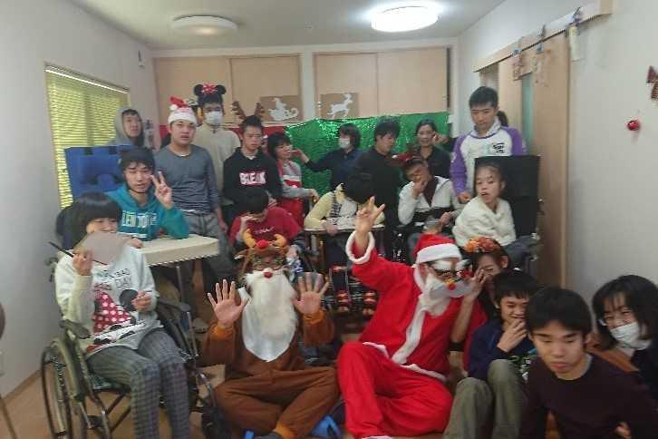 生活介護たからじまのクリスマス会